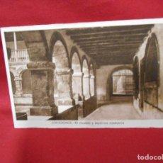 Postales: ANTIGUA POSTAL - COVADONGA - EL CLAUSTRO Y SEPULCROS ROMANICOS - SIN CIRCULAR -. Lote 142085942