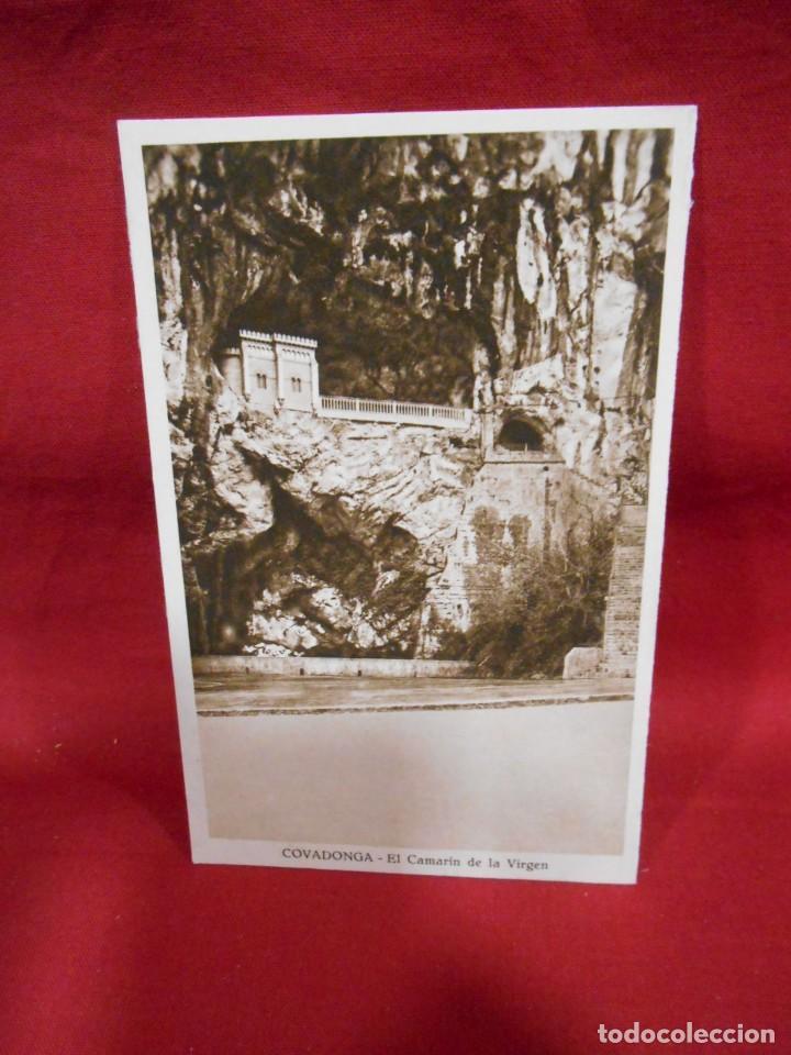 ANTIGUA POSTAL - COVADONGA - EL CAMARIN DE LA VIRGEN - SIN CIRCULAR - (Postales - España - Asturias Antigua (hasta 1.939))