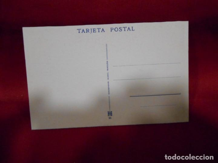Postales: ANTIGUA POSTAL - COVADONGA - CASAS DE LOS CANONIGOS DESDE EL PORTICO - SIN CIRCULAR - - Foto 2 - 142090458