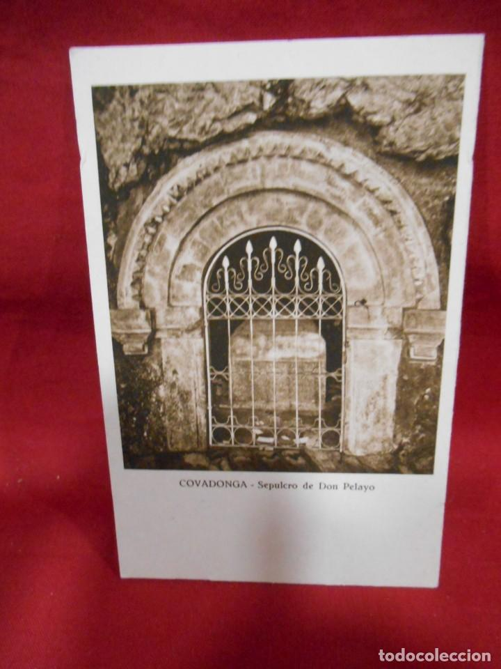 ANTIGUA POSTAL - COVADONGA - SEPULCRO DE DON PELAYO - SIN CIRCULAR - (Postales - España - Asturias Antigua (hasta 1.939))