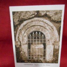 Postales: ANTIGUA POSTAL - COVADONGA - SEPULCRO DE DON PELAYO - SIN CIRCULAR -. Lote 142090754