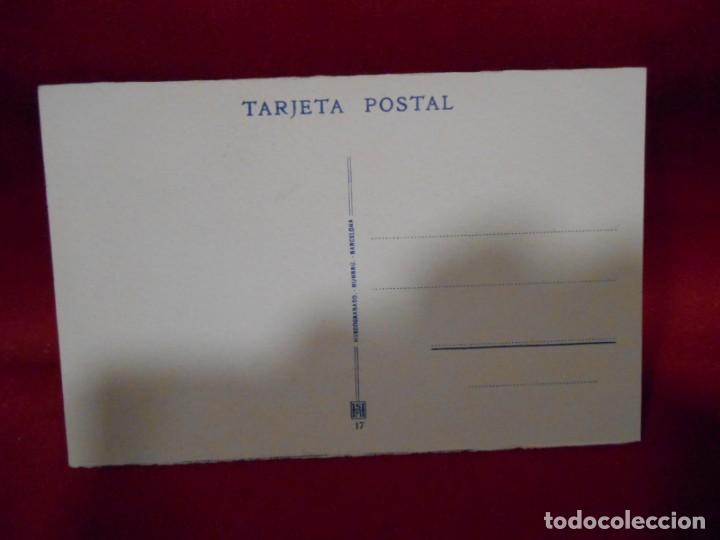 Postales: ANTIGUA POSTAL - COVADONGA - CUADRO DE DON PELAYO POR MADRAZO - SIN CIRCULAR - - Foto 2 - 142091446