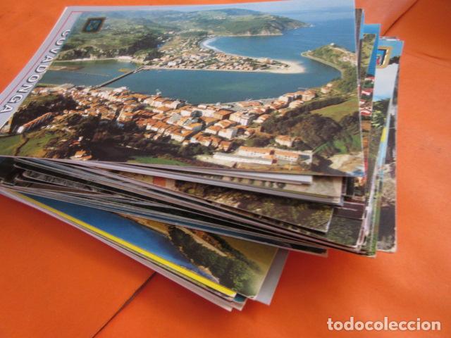 LOTE 64 CUDILLERO RIBADESELLA COVADONGA CANDAS COLUNGA TAPIA CASARIEGO CANGAS ONIS POLA LENA CASTROP (Postales - España - Asturias Moderna (desde 1.940))