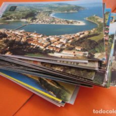 Postales: LOTE 64 CUDILLERO RIBADESELLA COVADONGA CANDAS COLUNGA TAPIA CASARIEGO CANGAS ONIS POLA LENA CASTROP. Lote 197423193