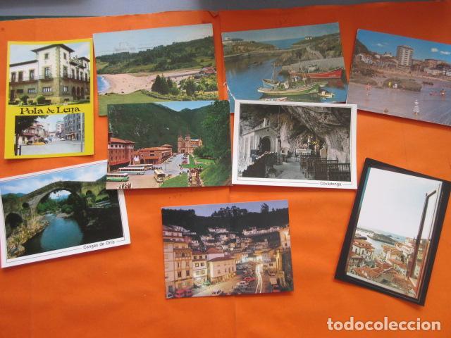 Postales: LOTE 64 CUDILLERO RIBADESELLA COVADONGA CANDAS COLUNGA TAPIA CASARIEGO CANGAS ONIS POLA LENA CASTROP - Foto 12 - 197423193