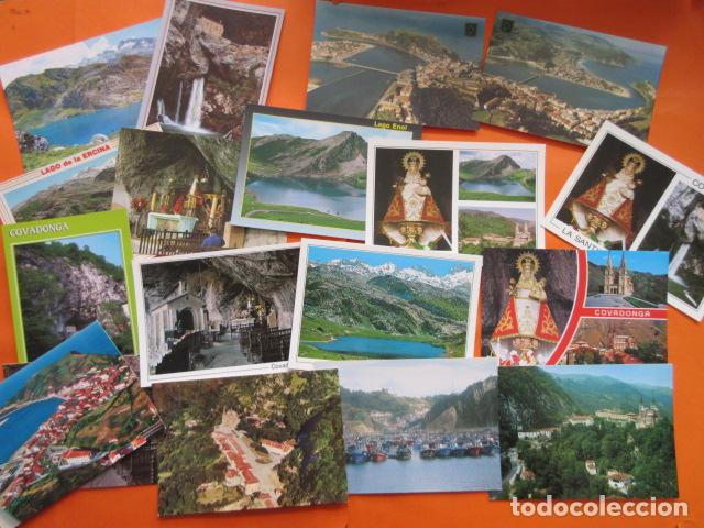 Postales: LOTE 64 CUDILLERO RIBADESELLA COVADONGA CANDAS COLUNGA TAPIA CASARIEGO CANGAS ONIS POLA LENA CASTROP - Foto 8 - 197423193