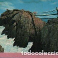 Postales: POSTAL DE SALINAS - ASTURIAS - 1978 PUENTE COLGANTE Nº 398 DE ALCE. Lote 142817498