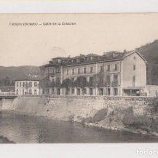 Postales: POSTAL. TRUBIA (OVIEDO). CALLE DE LA ESTACIÓN. ASTURIAS. Lote 142981934