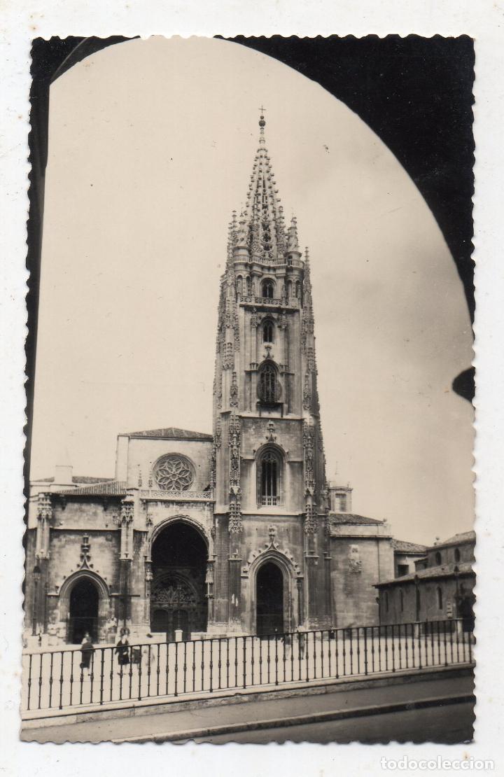 OVIEDO. LA CATEDRAL. (Postales - España - Asturias Moderna (desde 1.940))