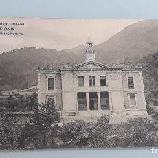 Postales: ANTIGUA POSTAL Nº 1976 DE ASTURIAS - CANGAS DE ONIS - CASA CONSISTORIAL - HAUSER Y MENET - AÑOS 20. Lote 143599438
