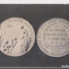 Postales: POSTAL. MEDALLA CONMEMORATIVA DEL III CENTENARIO DE LA UNIVERSIDAD DE OVIEDO. ASTURIAS 1908. RARA. Lote 143651110