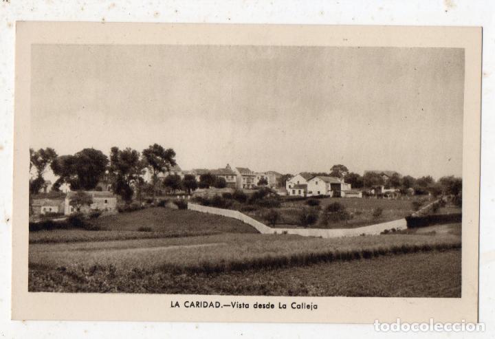 LA CARIDAD. VISTA DESDE LA CALLEJA. (Postales - España - Asturias Antigua (hasta 1.939))