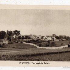 Postales: LA CARIDAD. VISTA DESDE LA CALLEJA.. Lote 144263714