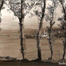 Postales: CASTROPOL - VISTA DESDE RIBADEO - FOTO J.F.C. -SIN CIRCULAR. Lote 144412130