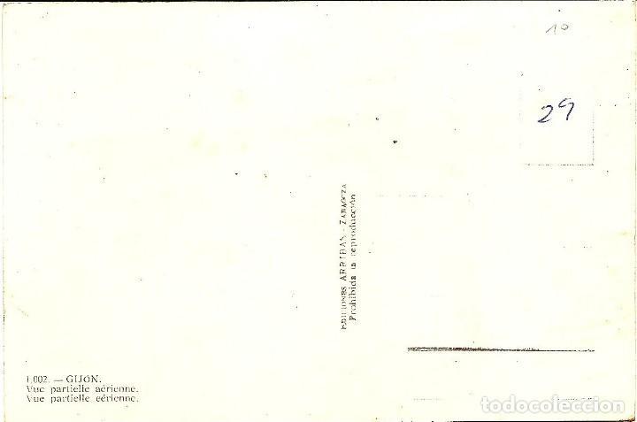 Postales: GIJÓN - VISTA PARCIAL AÉREA - EDICIONES ARRIBAS - SIN CIRCULAR - Foto 2 - 144413130