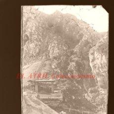 Postales: COVADONGA - CLICHE ORIGINAL - NEGATIVO EN CELULOIDE - AÑOS 1900-1920 - FOTOTIP. THOMAS, BARCELONA. Lote 144476382
