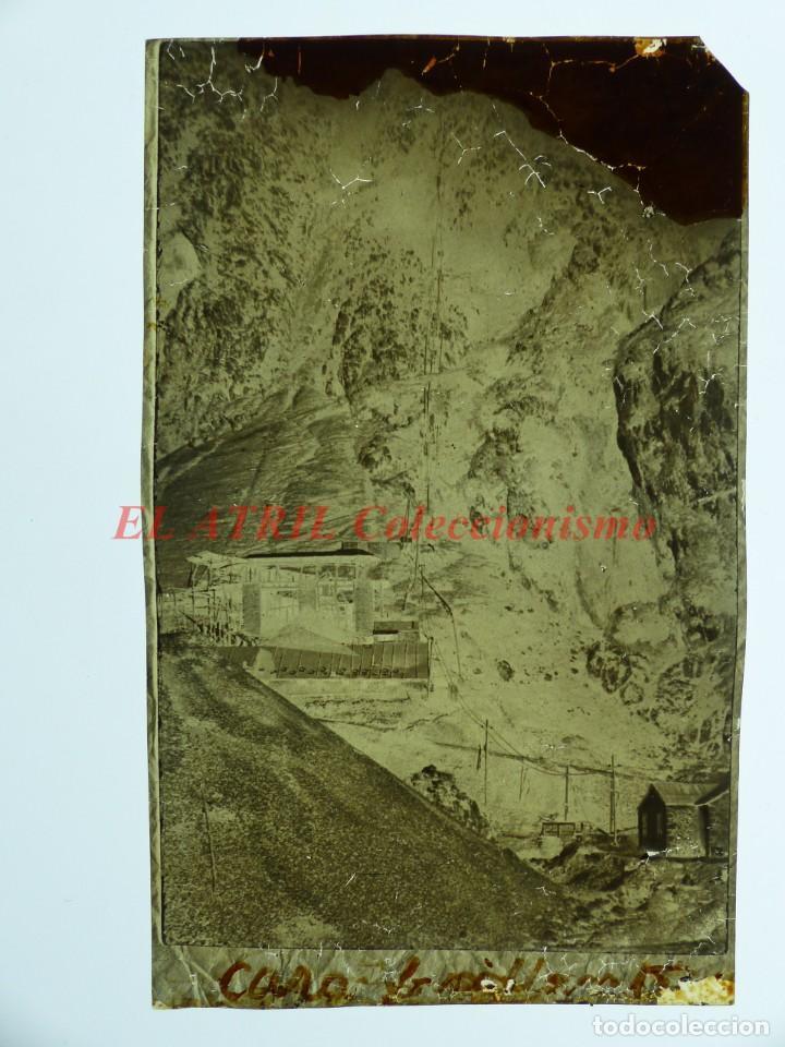 Postales: COVADONGA - CLICHE ORIGINAL - NEGATIVO EN CELULOIDE - AÑOS 1900-1920 - FOTOTIP. THOMAS, BARCELONA - Foto 2 - 144476382
