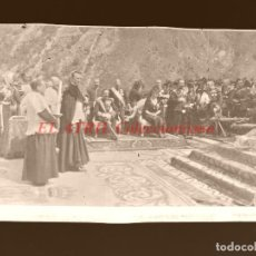 Postales: COVADONGA - CLICHE ORIGINAL - NEGATIVO EN CELULOIDE - AÑOS 1900-1920 - FOTOTIP. THOMAS, BARCELONA. Lote 144476758