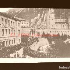 Postales: COVADONGA - CLICHE ORIGINAL - NEGATIVO EN CELULOIDE - AÑOS 1900-1920 - FOTOTIP. THOMAS, BARCELONA. Lote 144476906