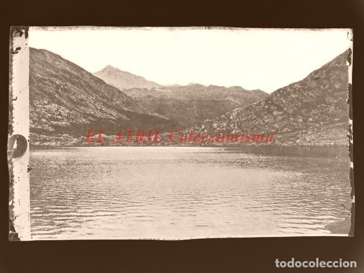 COVADONGA - CLICHE ORIGINAL - NEGATIVO EN CELULOIDE - AÑOS 1900-1920 - FOTOTIP. THOMAS, BARCELONA (Postales - España - Asturias Antigua (hasta 1.939))