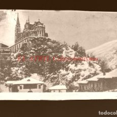 Postales: COVADONGA - CLICHE ORIGINAL - NEGATIVO EN CELULOIDE - AÑOS 1900-1920 - FOTOTIP. THOMAS, BARCELONA. Lote 144477106