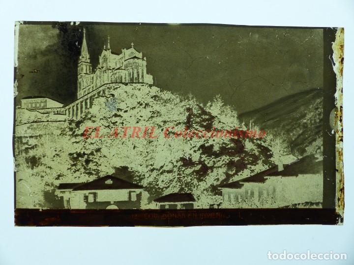 Postales: COVADONGA - CLICHE ORIGINAL - NEGATIVO EN CELULOIDE - AÑOS 1900-1920 - FOTOTIP. THOMAS, BARCELONA - Foto 2 - 144477106