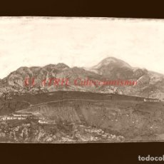 Postales: CANGAS DE ONIS - CLICHE ORIGINAL - NEGATIVO EN CELULOIDE - AÑOS 1900-20 - FOTOTIP. THOMAS, BARCELONA. Lote 144477282