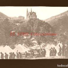Postales: COVADONGA - CLICHE ORIGINAL - NEGATIVO EN CELULOIDE - AÑOS 1900-20 - FOTOTIP. THOMAS, BARCELONA. Lote 144477602