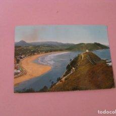 Postales: RIBADESELLA. PLAYA. ED. ALARDE. CIRCULADA.. Lote 145069706