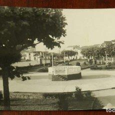 Postales: FOTO POSTAL LA CARIDAD, ASTURIAS, N. 6 - PARQUE MARIA CRISTINA, ED. ALARDE, CIRCULADA.. Lote 145416682