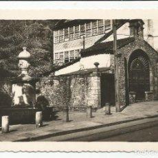 Postales: AVILÉS - CAPILLA Y CAÑOS DE LA TÍPICA CALLE DE RIVERO - Nº 12 ED. A. NÚÑEZ. Lote 145617762