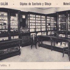 Postales: OVIEDO (ASTURIAS) - LIBRERIA GALAN. Lote 146381622