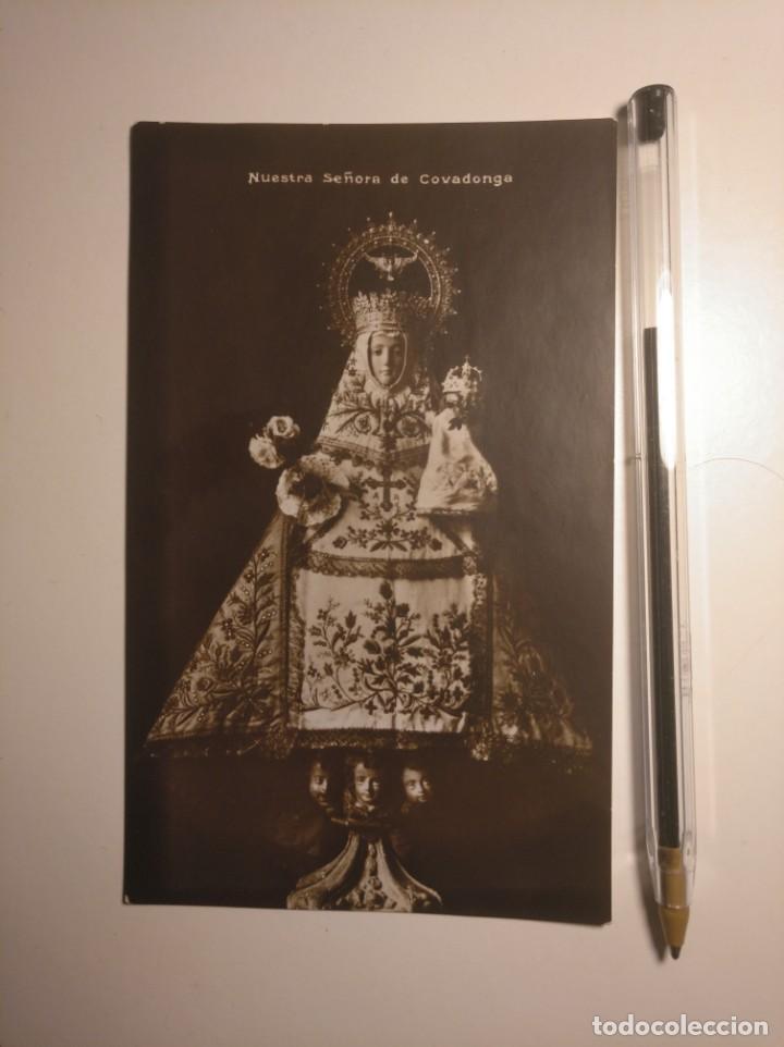 POSTAL NUESTRA SEÑORA DE COVADONGA. ANTIGUA (Postales - España - Asturias Antigua (hasta 1.939))