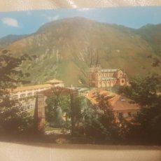 Postales: ANTIGUA POSTAL DE COVADONGA, ASTURIAS. VISTA GENERAL. SIN CIRCULAR. ED. ARRIBAS N°2.033.. Lote 146705822