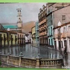 Postales: BARCO DE VALDEORRAS. 4 PLAZA DE CALVO SOTELO. ED. PARÍS. USADA. COLOR. Lote 147354033