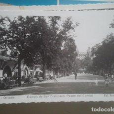 Postales: OVIEDO - CAMPO DE SAN FRANCISCO, PASEO DEL BOMBÉ - ARRIBAS, 15 - FOTOGRÁFICA. Lote 147525034