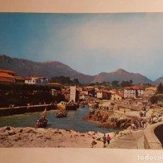 Postales: LLANES, ENTRADA AL PUERTO . Lote 147846946