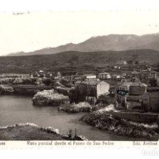 Postales: TARJETA POSTAL LLANES. VISTA PARCIAL DESDE EL PASEO DE SAN PEDRO. Nº 42. EDIC. ARRIBAS. 1959. Lote 148013404