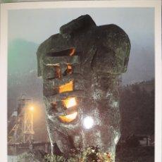 Postales: POSTAL MONUMENTO A LOS MINEROS FALLECIDOS MIERES DEL CAMINO 1998. Lote 207262095