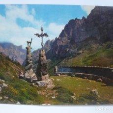 Postales: POSTAL. 21. PICOS DE EUROPA. VALLE DE VALDEON, MIRADOR DELGADO ÚBEDA. ED. SICILIA. NO ESCRITA. . Lote 149020834