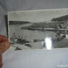 Postales: 3.-RIA,MUELLE Y PUERTO.-NAVIA.FOTOMELY OVIEDO. Lote 149884494