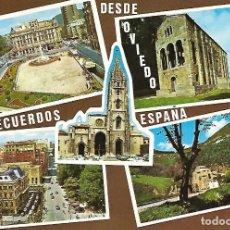 Postales: OVIEDO (AÑOS 70). Lote 150117418