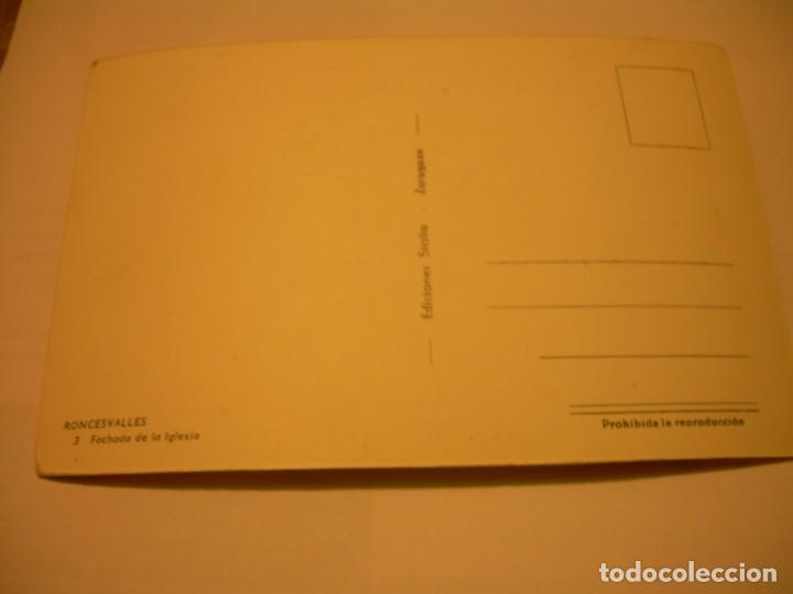 Postales: ANTIGUA POSTAL....RONCESVALLES. - Foto 2 - 150286086