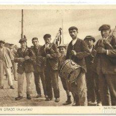 Postales: (PS-59526)POSTAL DE GAITEROS EN GRADO(ASTURIAS)-MIRAR REVERSO. Lote 150657286