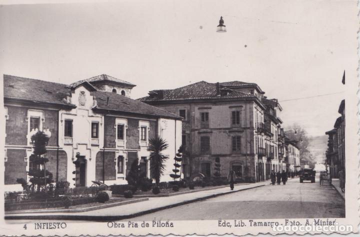 INFIESTO (ASTURIAS) - OBRA PIA DE PILOÑA (Postales - España - Asturias Moderna (desde 1.940))