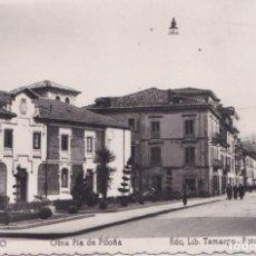 Postales: INFIESTO (ASTURIAS) - OBRA PIA DE PILOÑA. Lote 151543922
