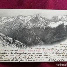 Postales: ASTURIAS. PAJARES. DORSO SIN DIVIDIR. Lote 152548974