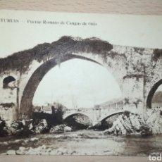 Postales: ESPAÑA SPAIN TARJETA POSTAL ASTURIAS PUENTE ROMANO DE CANGAS DE ONÍS. Lote 152578458
