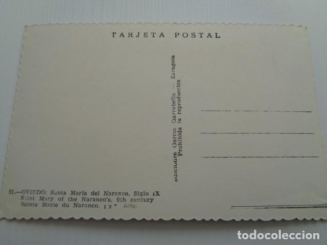 Postales: OVIEDO. SANTA MARÍA DEL NARANCO. - Foto 2 - 152980250