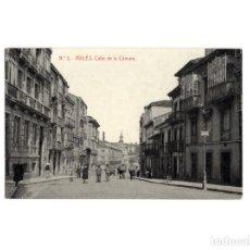 Postales: AVILÉS.(ASTURIAS).- CALLE DE LA CÁMARA. POSTAL FOTOGRÁFICA. Lote 153951622